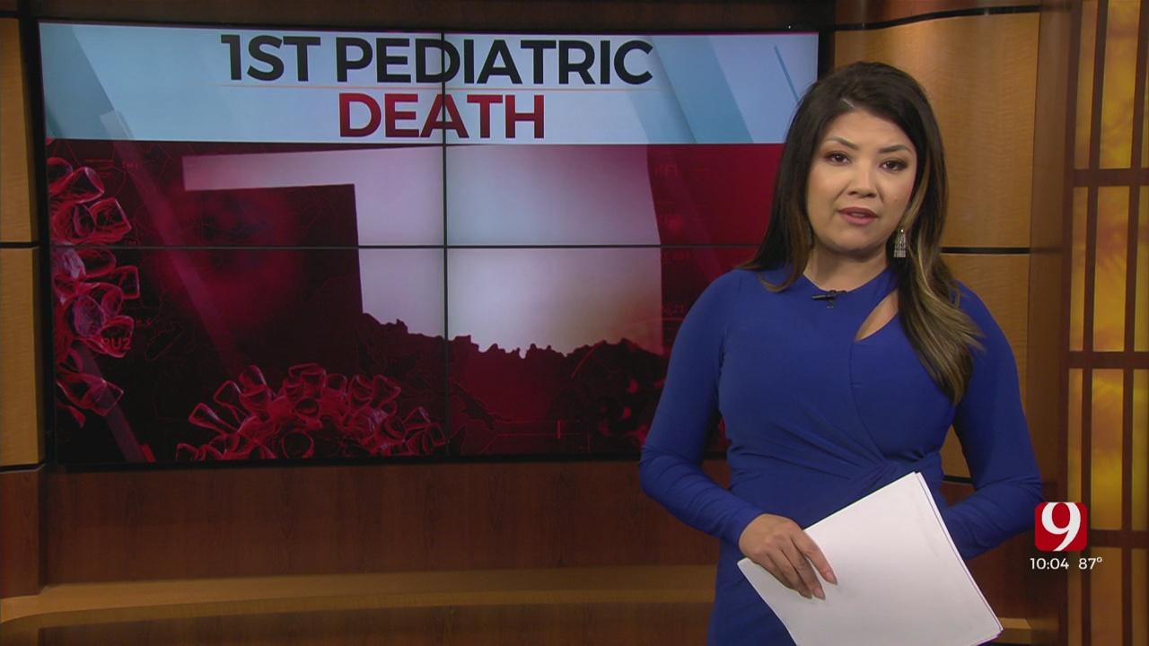 Officials Respond To First Pediatric COVID-19 Death Reported In Oklahoma