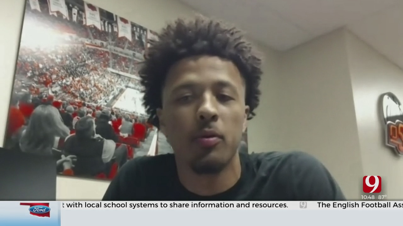 OSU Basketball's Cade Cunningham Talks With The Media For The First Time