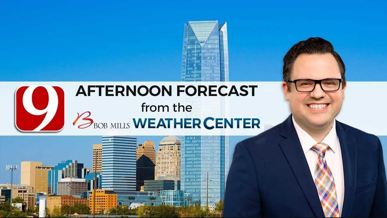 Matt's Monday Afternoon Forecast