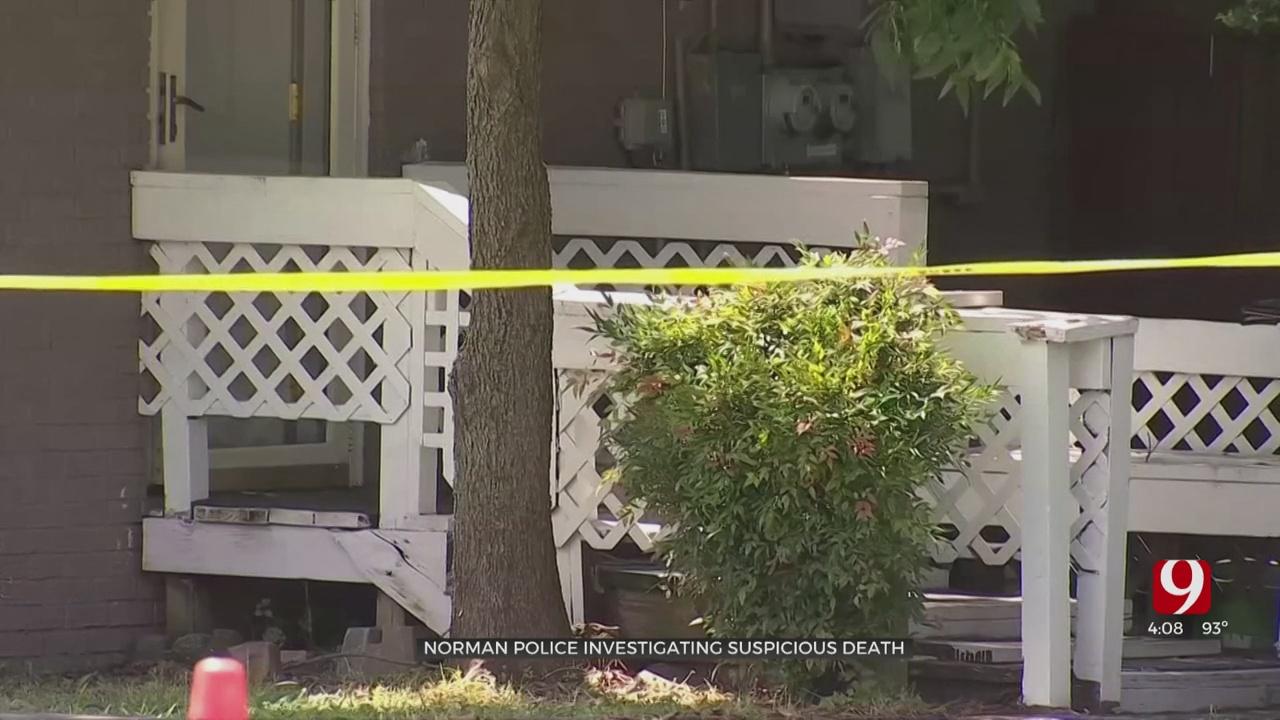Norman Police Investigate Body Found In Driveway