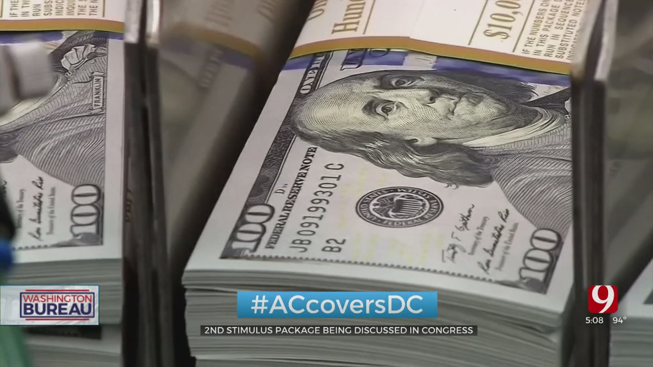 Second Stimulus Check Being Discussed In Congress