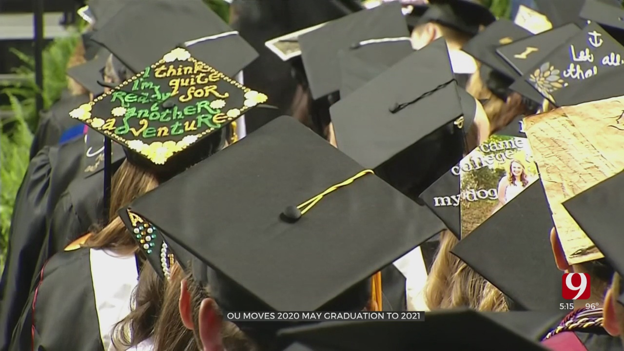 OU's Spring 2020 Graduation Moved To 2021