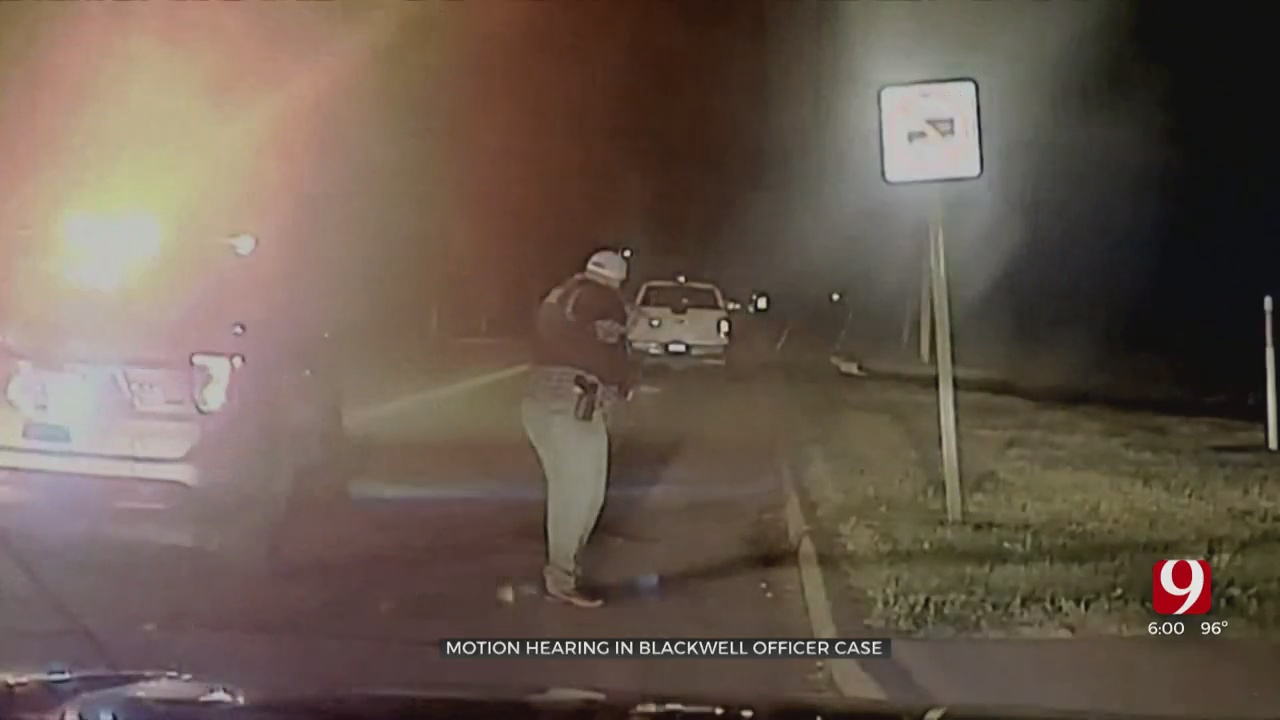 Attorneys For Blackwell Officer Charged With Manslaughter Argue Case Should Be Tossed