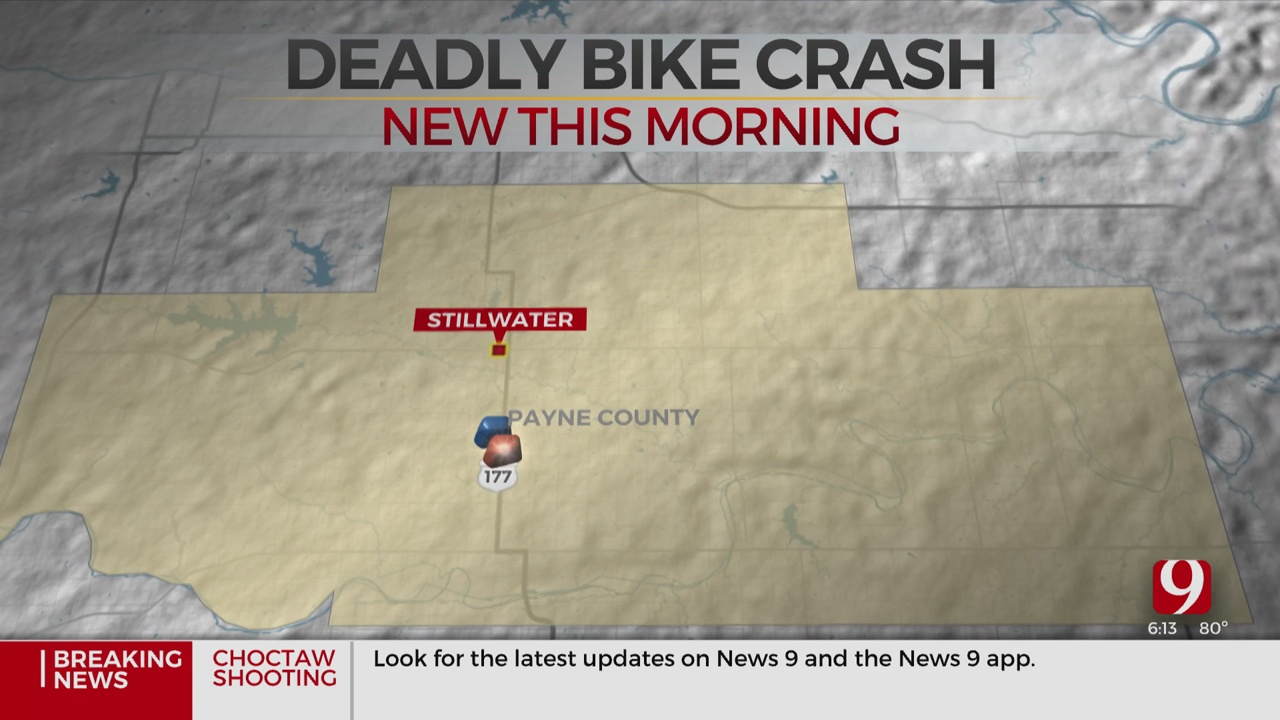 Bicyclist Dies After Being Hit By Car In Payne County
