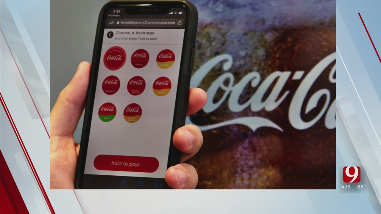 Trends, Topics & Tags: Touch-Free Soda
