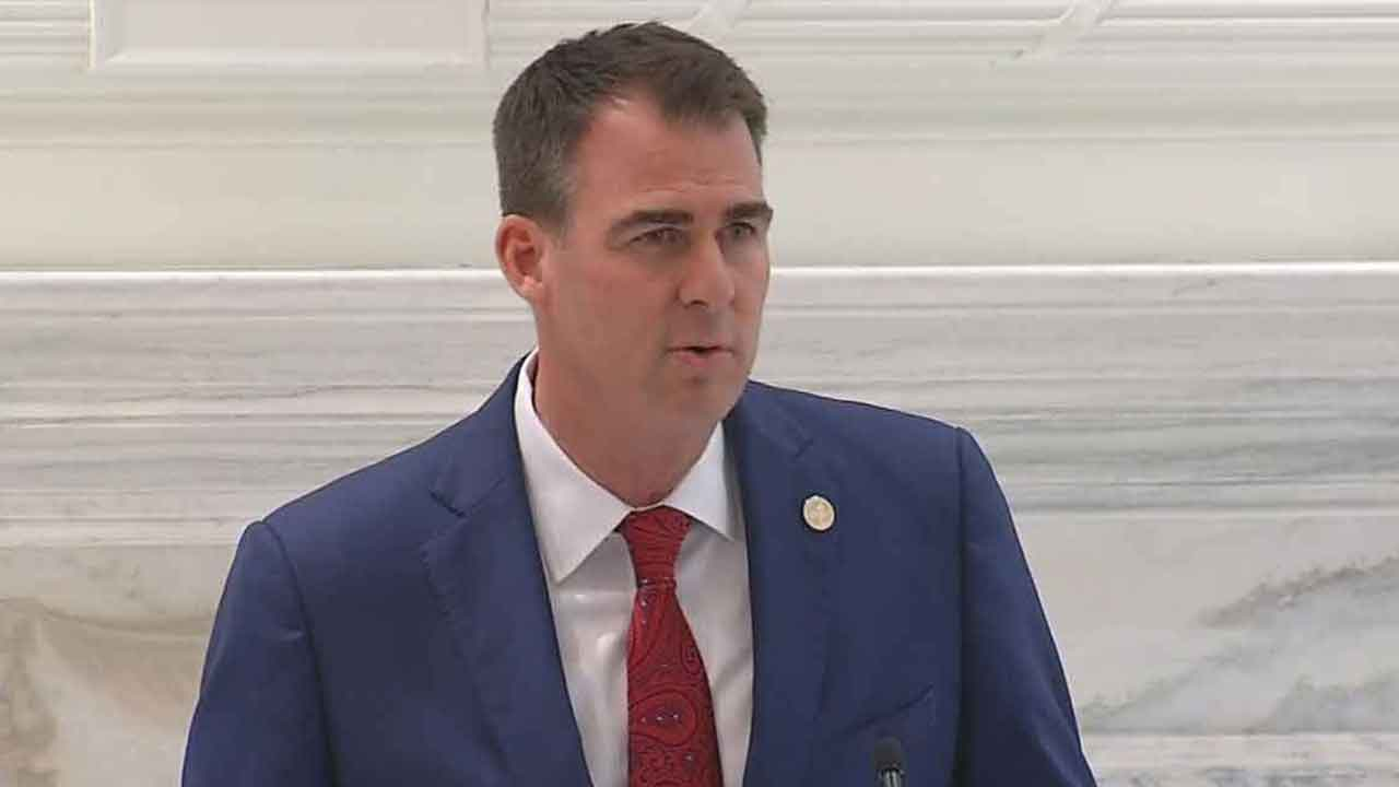 Stitt 1st Governor In US To Test Positive For COVID-19