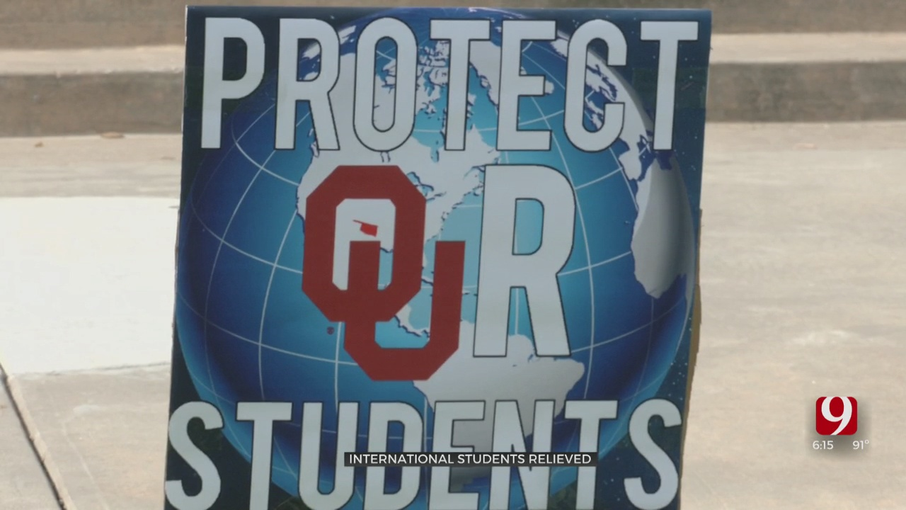 OU International Students Claiming Victory After Trump Administration Rescinds Foreign Students Rule