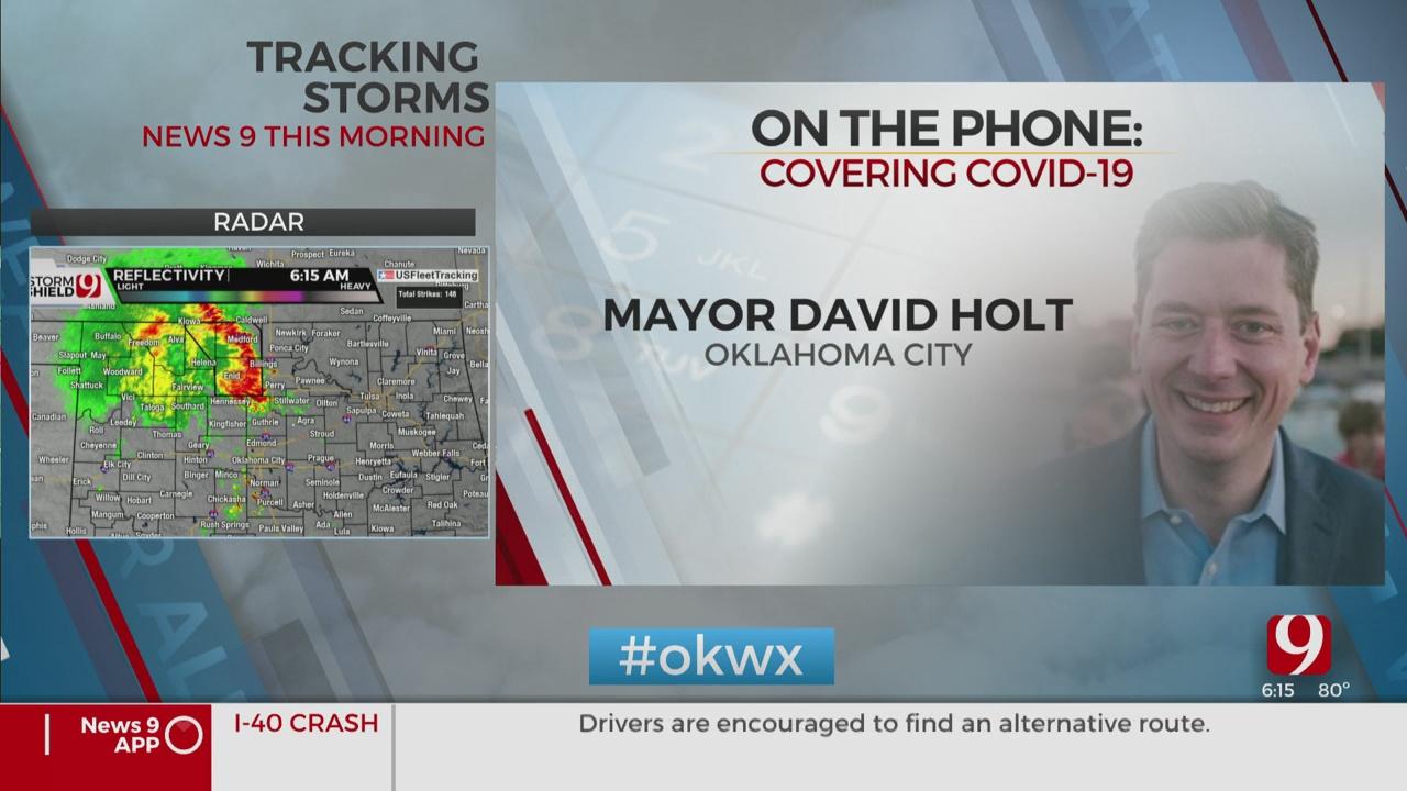 Watch: OKC Mayor David Holt On A Possible Mask Mandate