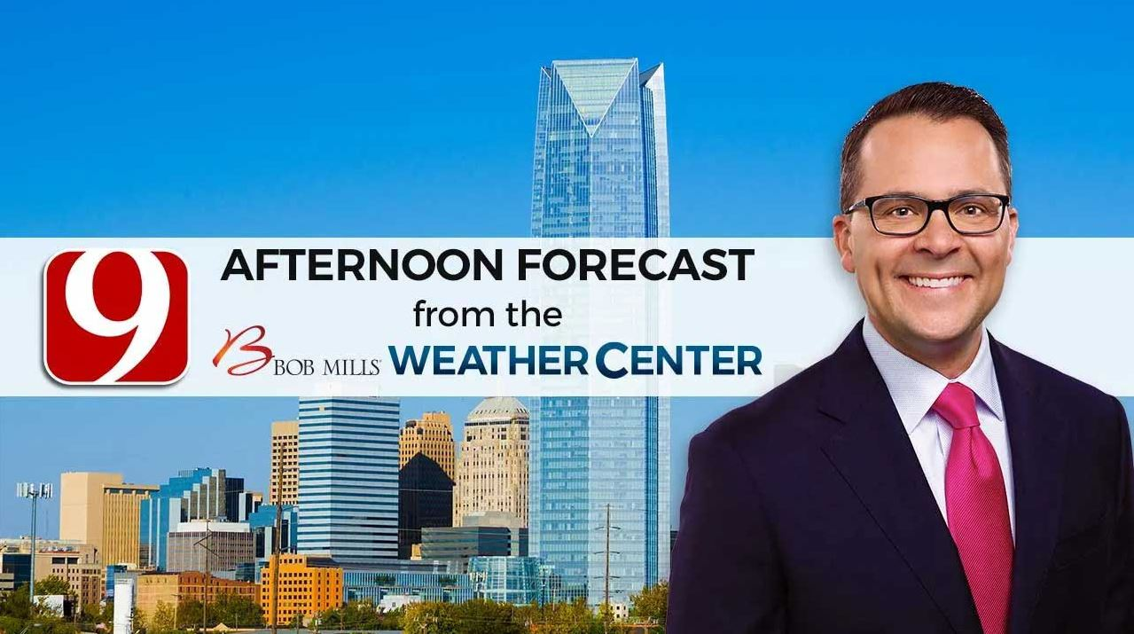 Justin's Thursday Afternoon Forecast