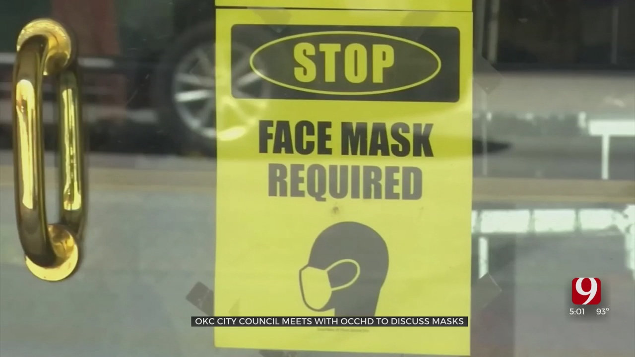 Tight Vote Expected On Oklahoma City Mask Mandate