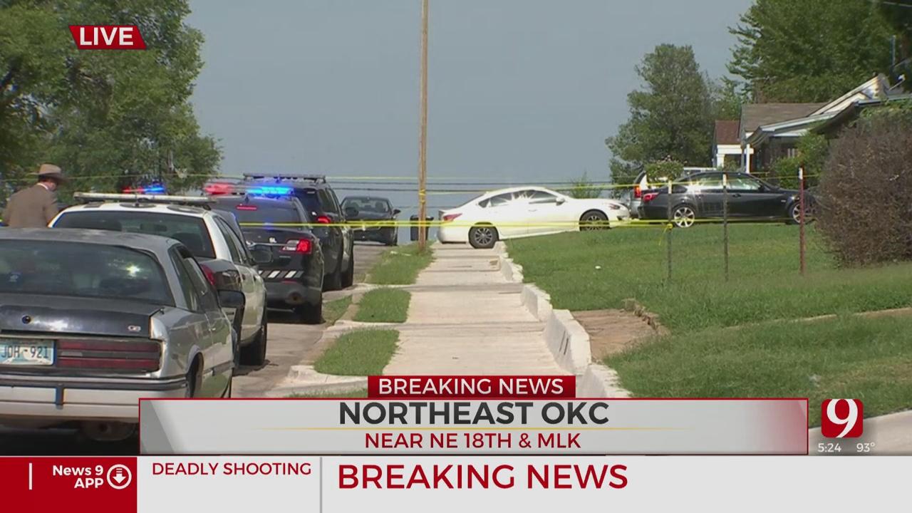 Man Shot, Killed In Alleged Domestic Dispute In NE OKC
