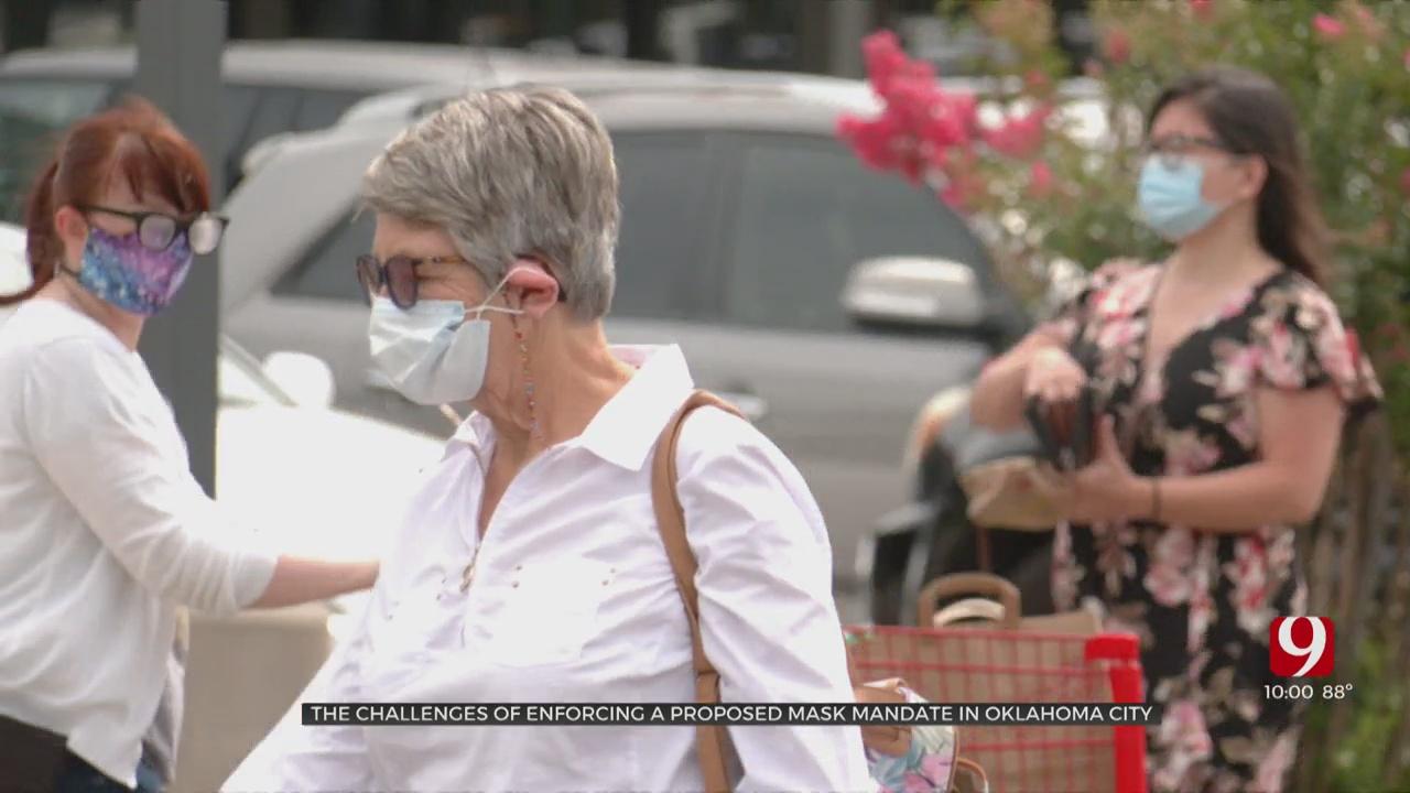 'It's Got To Have Teeth': OKC Council Considers Mask Mandate Enforcement