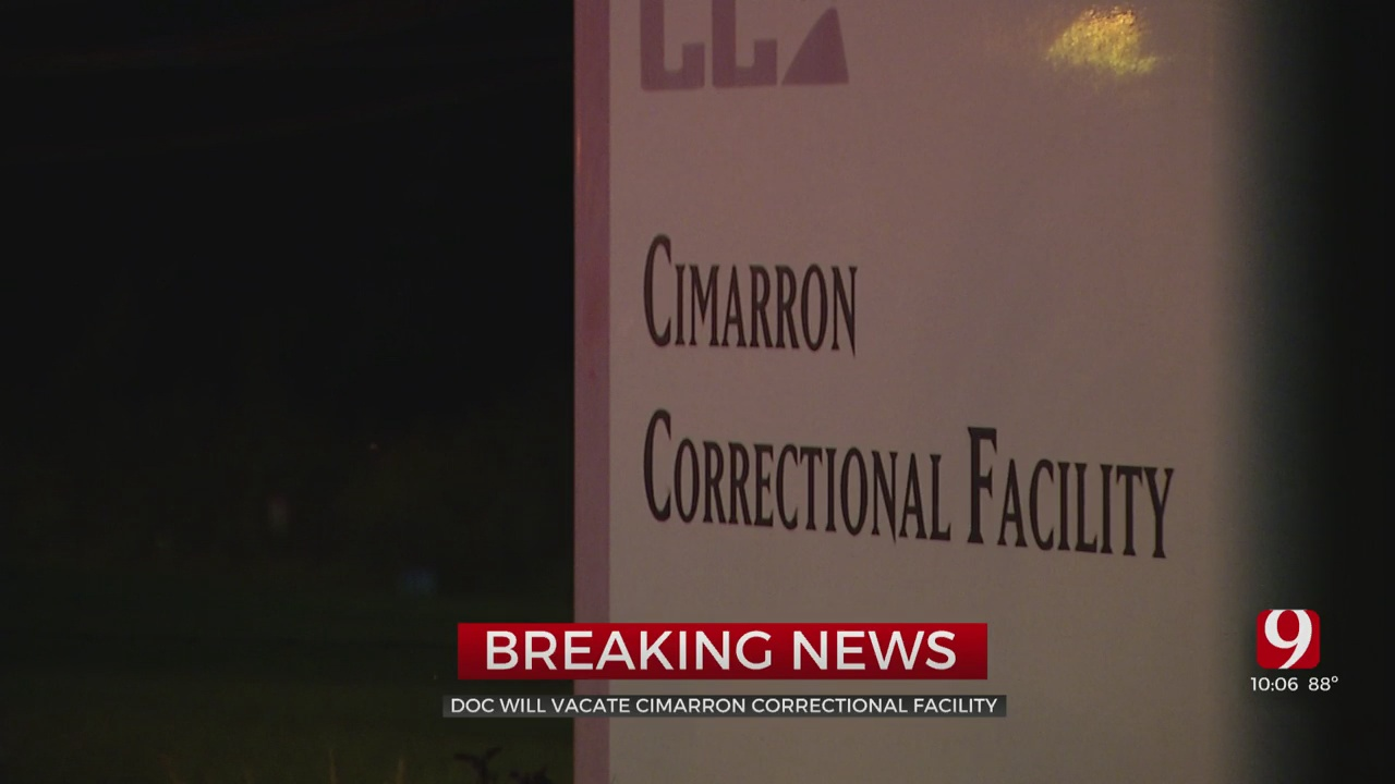 ODOC To Vacate Cimmaron Correctional Facility Due To Budget Cuts