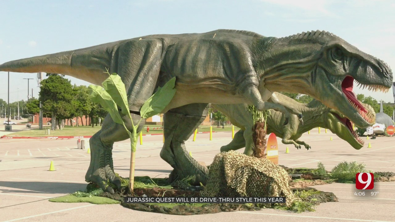 Drive-Thru Jurassic Quest Comes To OKC