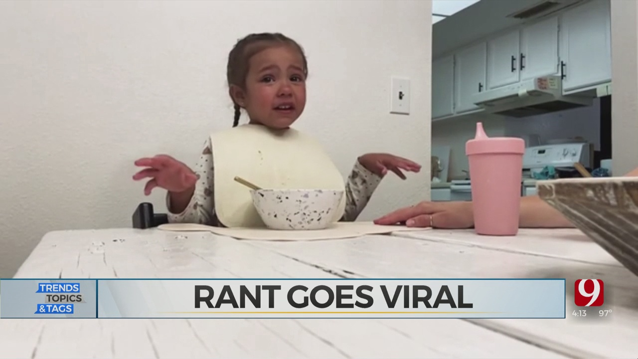 Trends, Topics & Tags: Child's Coronavirus Lockdown Rant Goes Viral