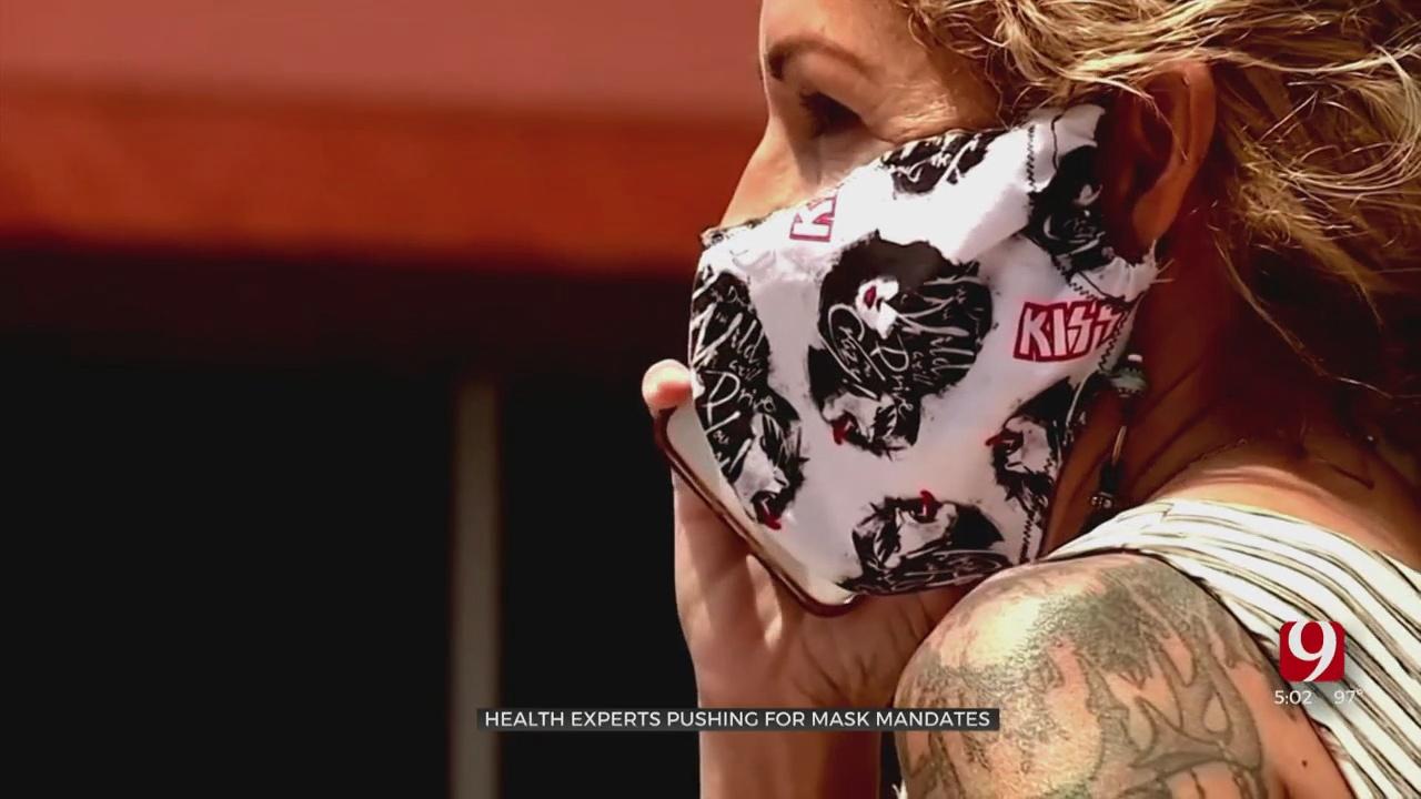 Medical Professionals Advocate For Masks