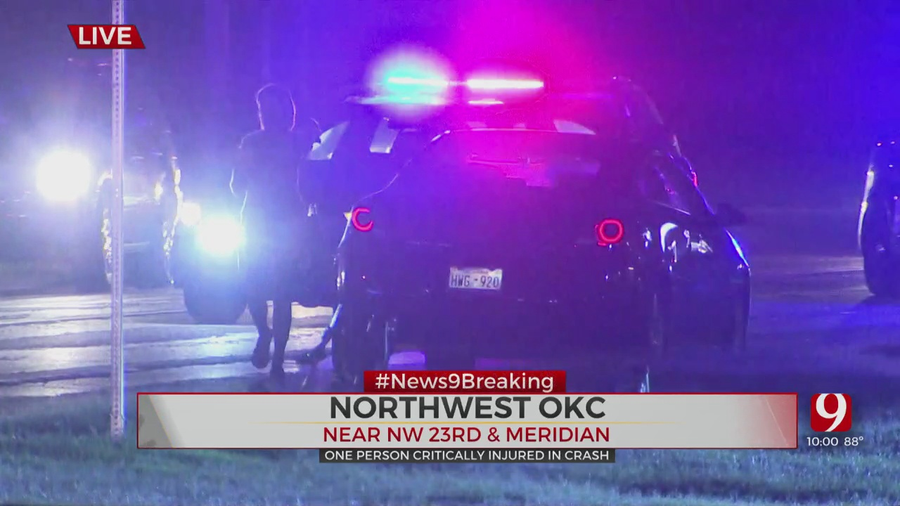1 In Critical Condition After Being Struck By Vehicle In NW OKC
