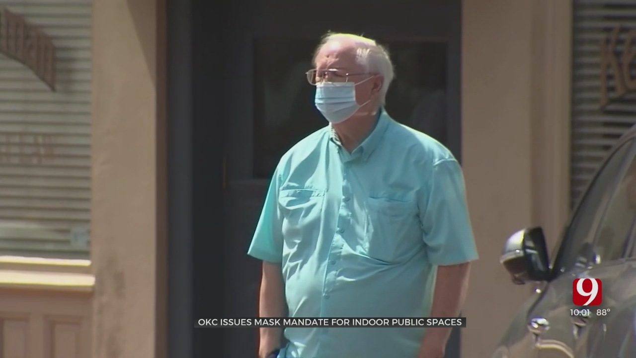 OKC City Council Passes Face Mask Ordinance
