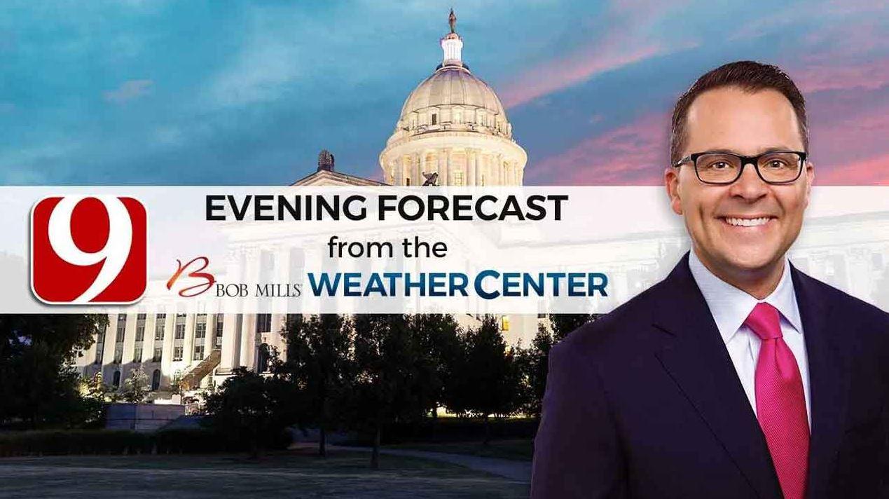 Justin's Saturday Evening Forecast