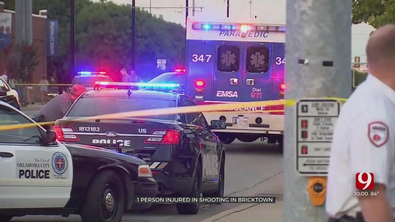 1 Taken To Hospital Following Shooting In Downtown OKC