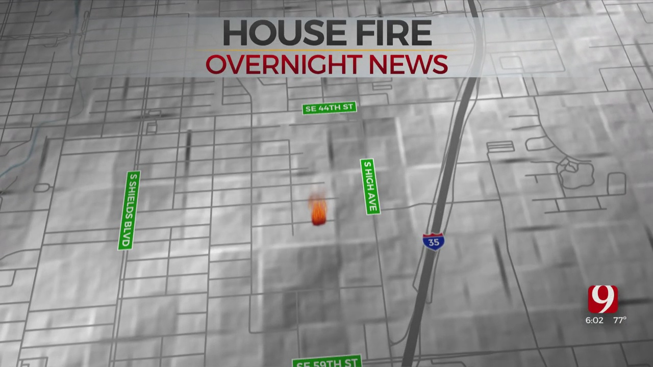 Southeast OKC Home Destroyed In Overnight Fire