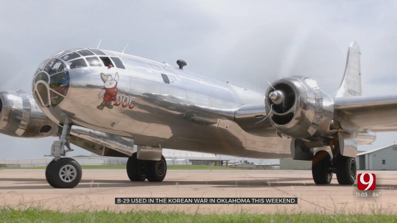 Historic WWII-Era Plane Makes Stop In Oklahoma