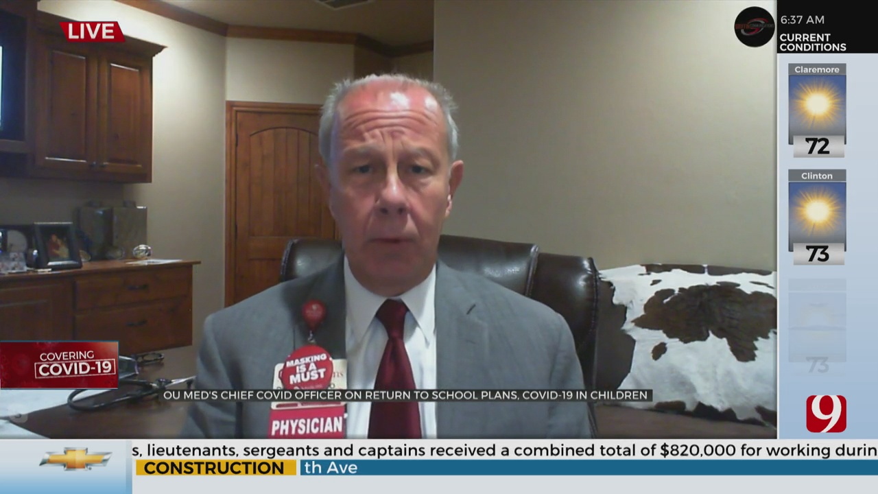 Watch: Dr. Bratzler On Schools Safely Reopening In The Fall