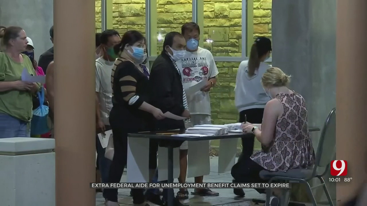 Fears Grow As Extra $600 In Pandemic Unemployment Aid Set To End Soon