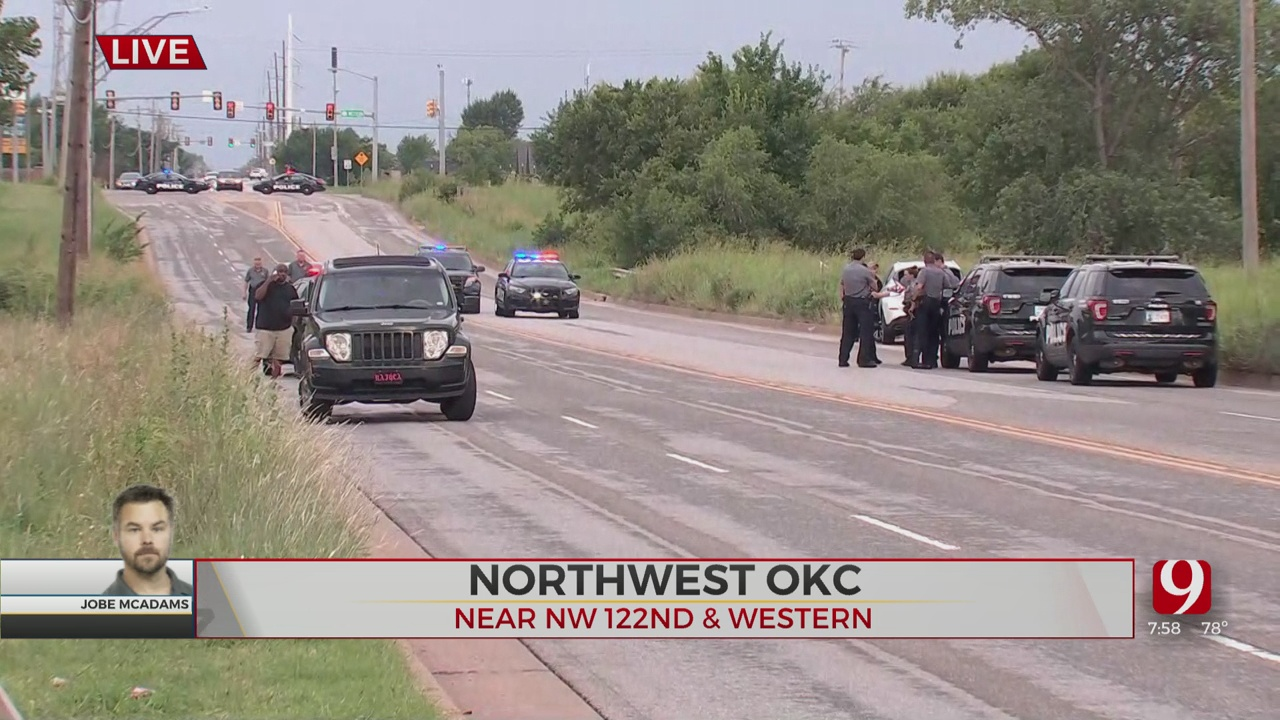 Accident Shuts Down NW 122nd Between Western, Santa Fe