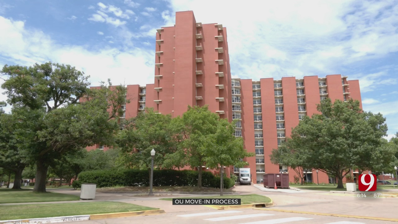 OU Move In Process Includes Mandatory COVID-19 Testing