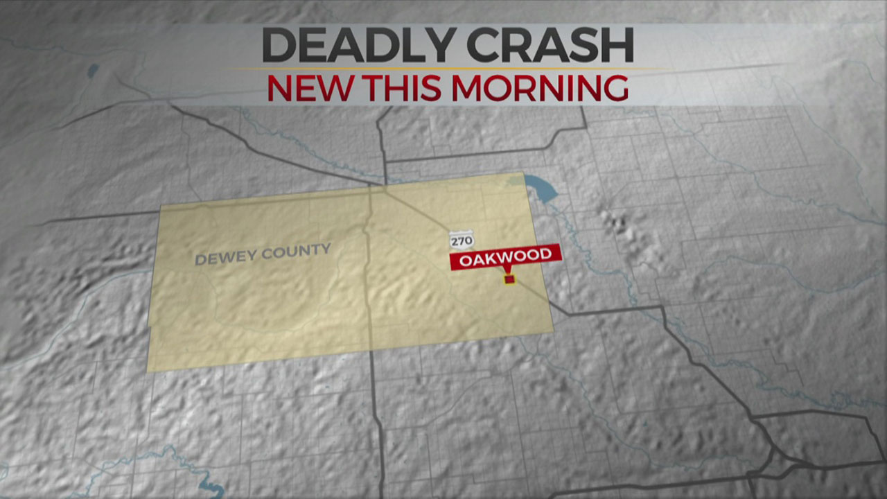 1 Dead, 2 In Critical Condition After Crash In Dewey County