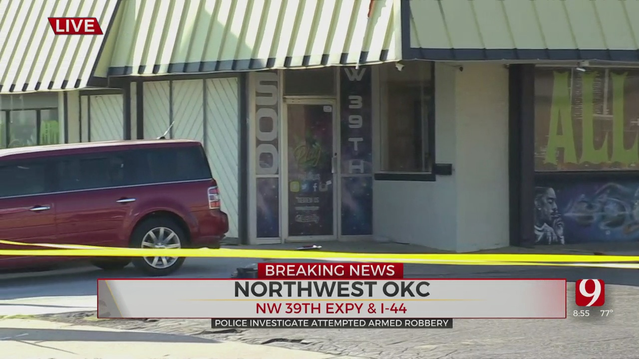 Gunshots Exchanged During Attempted Armed Robbery In NW OKC