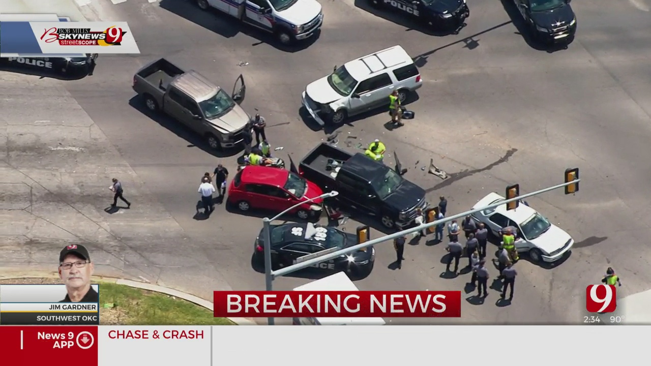 Chase Allegedly Involving Shooting Suspects Ends In Crash