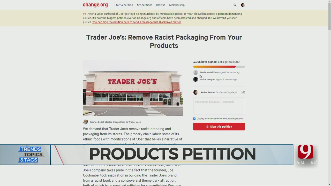 Trends, Topics & Tags: Trader Joe's Product Debate