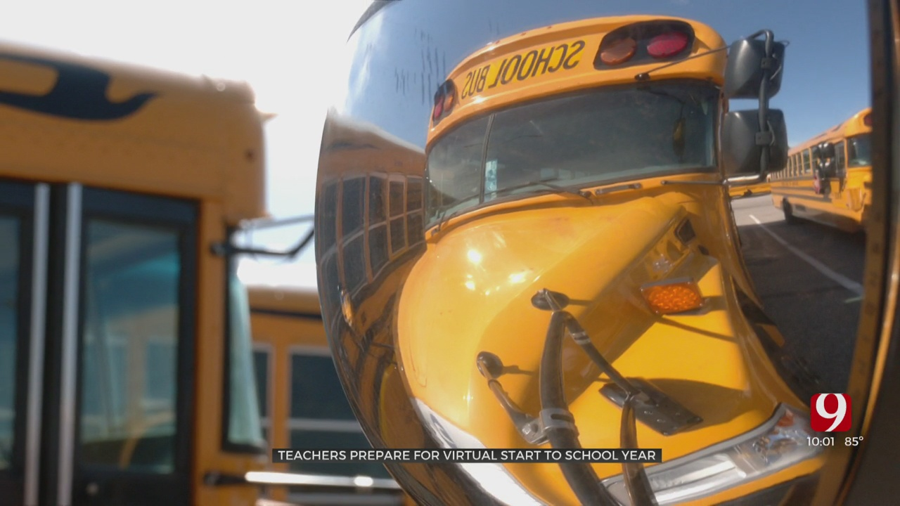 OKCPS Teachers Prepares For Virtual Start To 2020-2021 School Year