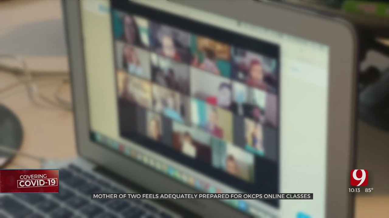 OKCPS Mother Offers Advice To Parents About Virtual Learning