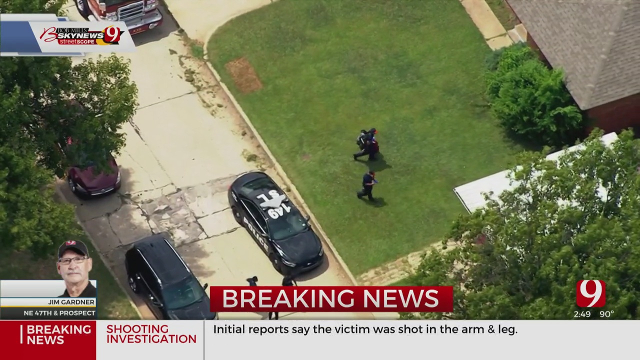 1 Victim Shot In NE OKC Shooting