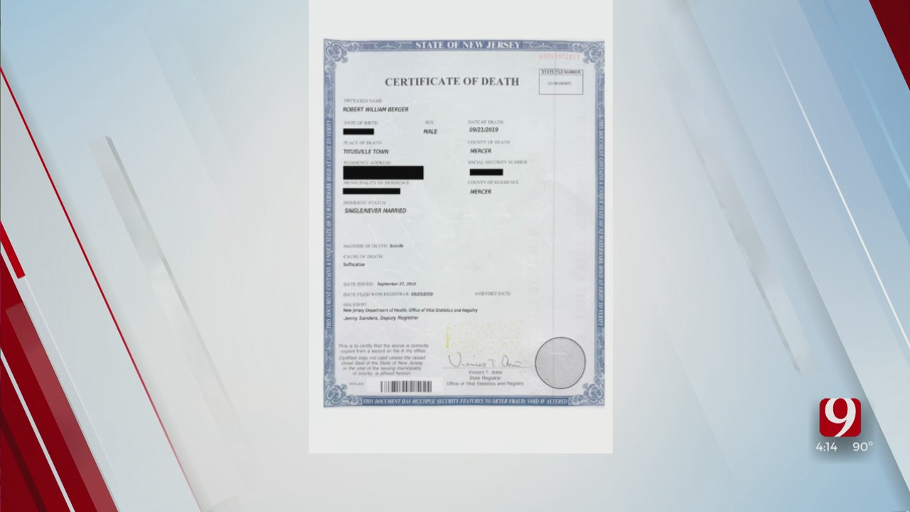 Trends, Topics & Tags: Fake Death Certificate