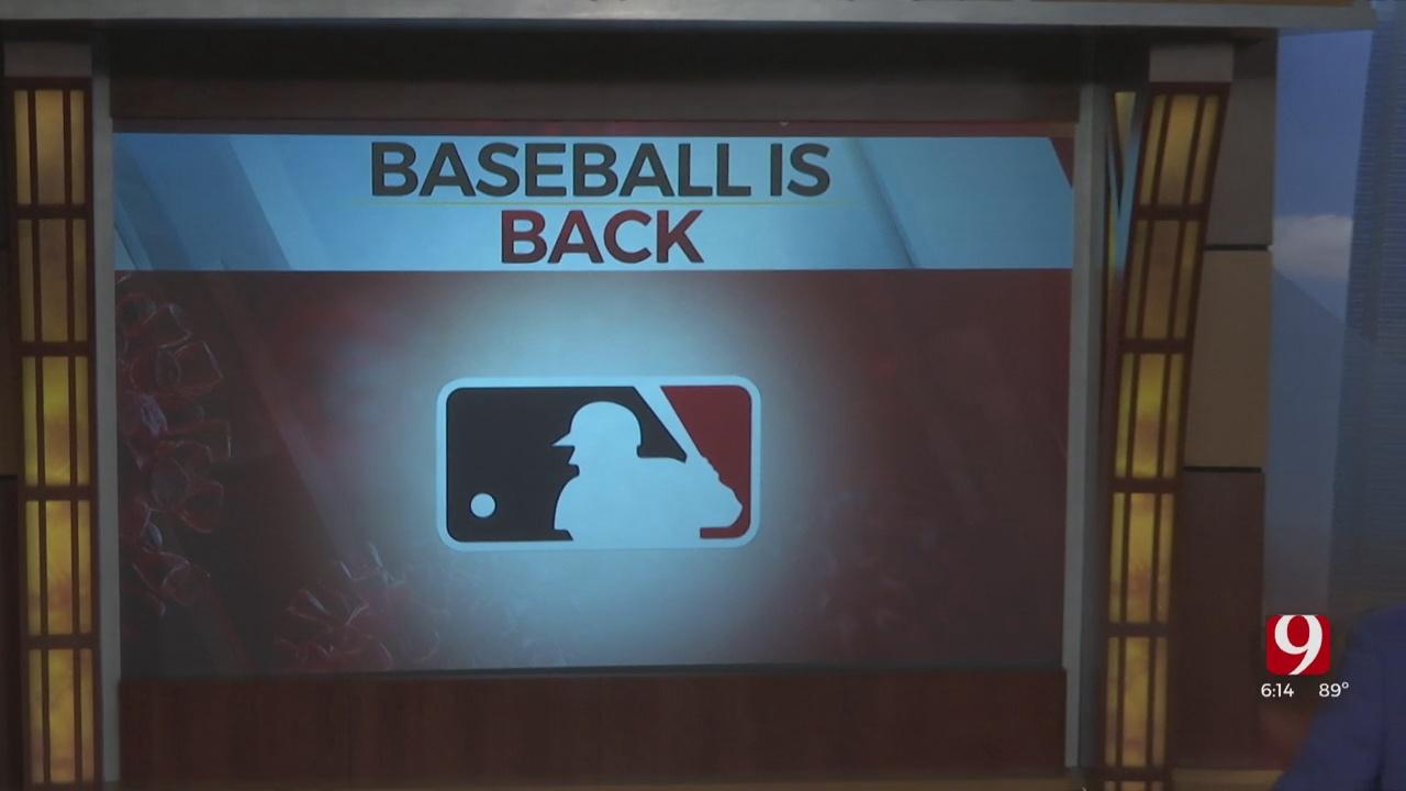 Major League Baseball Returns To The Nation's Capital