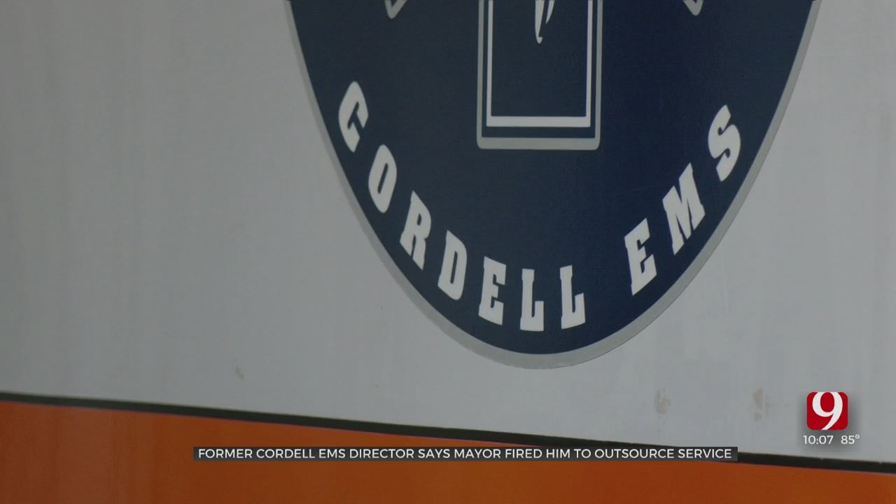 Cordell EMS Director Fired, Believes Mayor Is Attempting To Outsource EMS Services