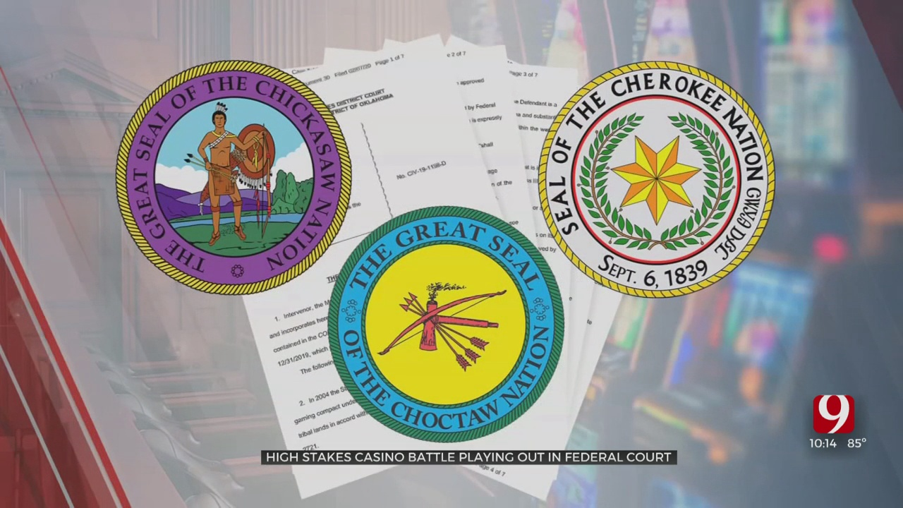 Controversial Gaming Compact Pits Gov. Stitt And Okla.'s Largest Tribes In Lawsuit
