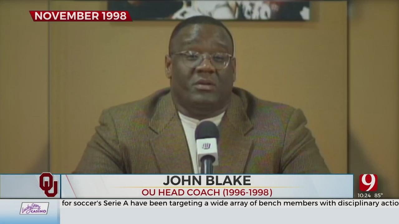 Former Oklahoma Football Coach John Blake Dies At Age 59