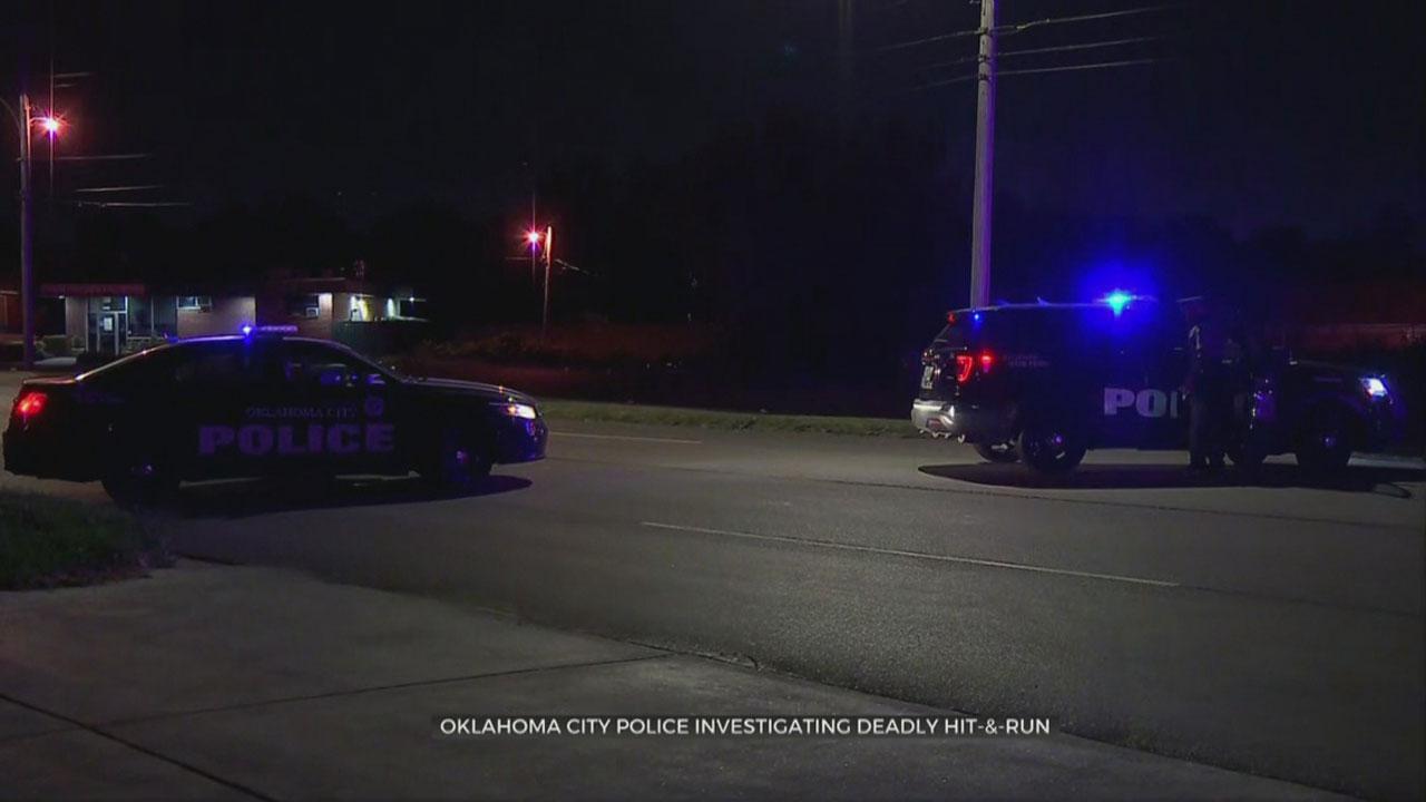 Woman Dies In Hit And Run Crash In NE OKC