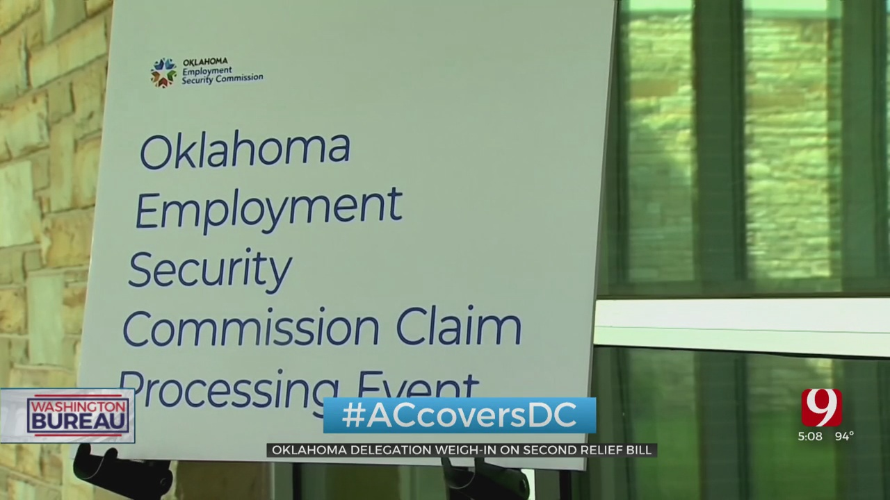Oklahoma Delegation Weighs In On 2nd Relief Bill, Expanded Federal Benefits