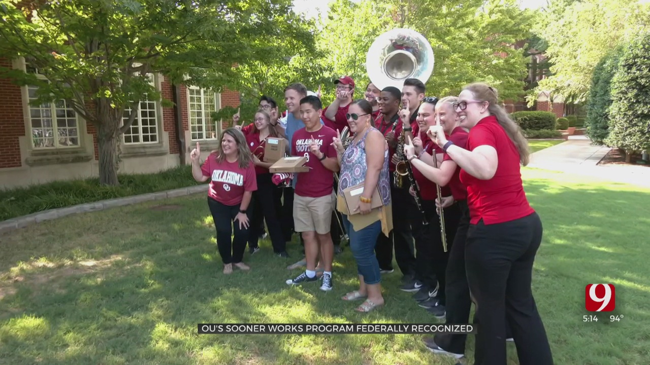 OU's Sooner Works Program Receives Federal Certification