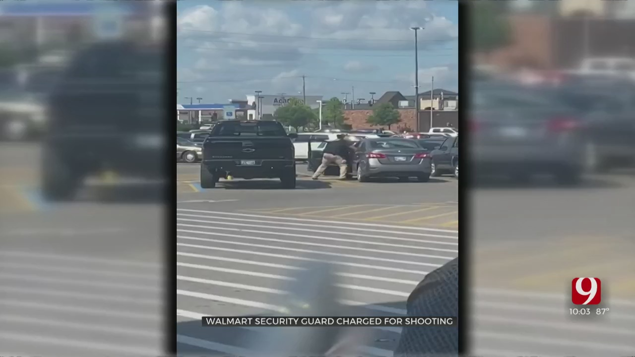 Off-Duty Police Officer Charged In Shooting At Del City Walmart