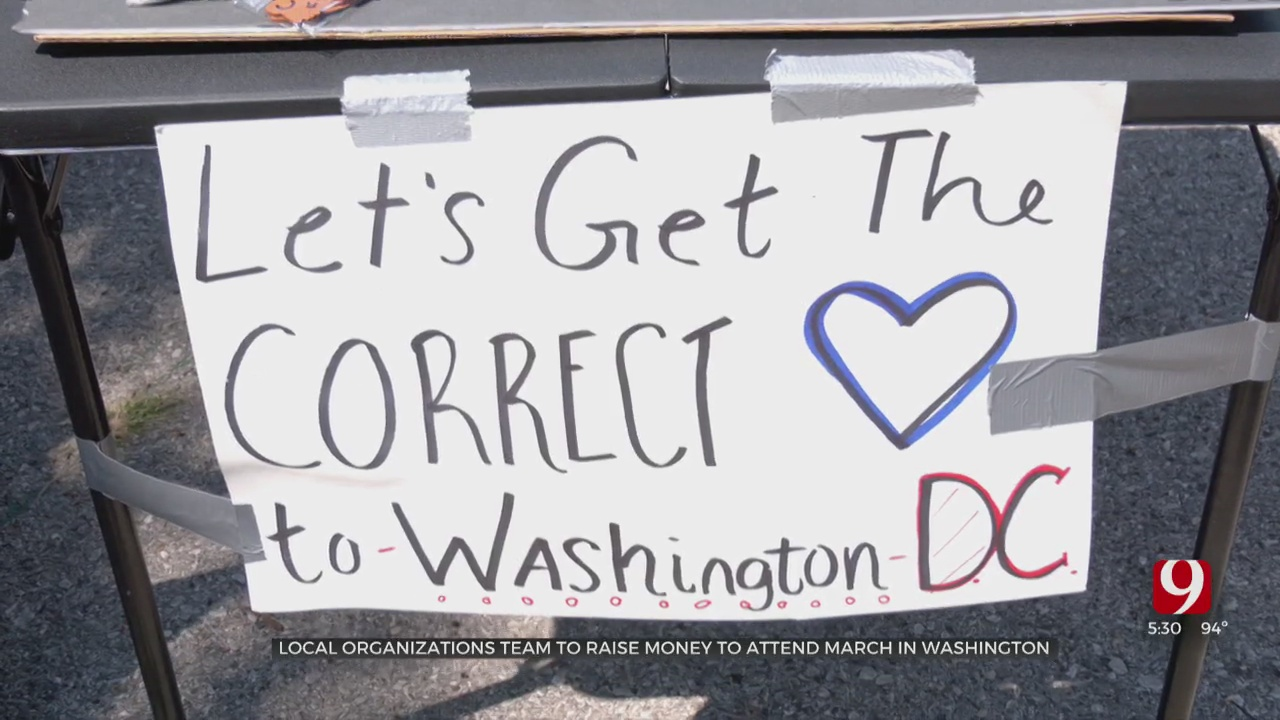 Local Group Raising Funds To March In Washington