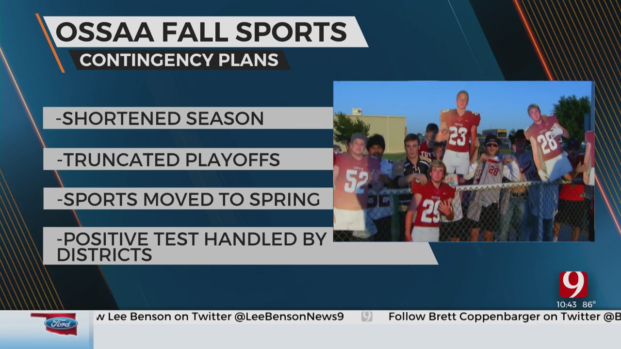 OSSAA Update On Fall Sports