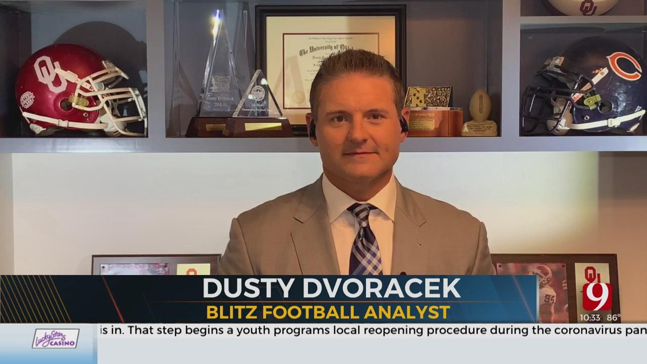 Dusty Dvoracek Joins The Blitz To Talk All Things Football