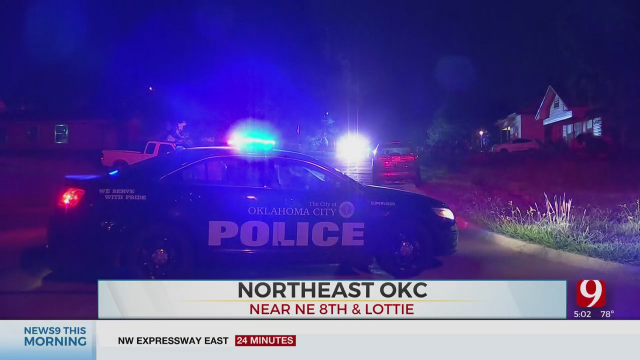 2 Shot In Leg In NE OKC Drive-By Shooting